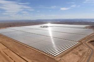 La plus grande centrale solaire au monde